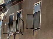 Požár v Horní Blatné
