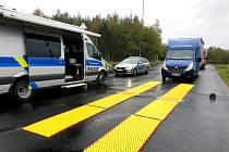 Bezpečnostní akce na území Karlovarského kraje.