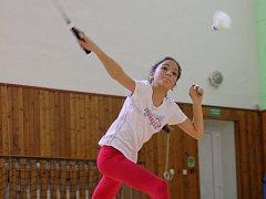 Badmintonistka Nela Juránková