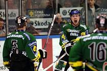 Šestý semifinálový zápas mezi Karlovými Vary, tentokrát na domácím ledě, a Českými Budějovicemi ukázal opět výborný hokej.