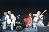 V rámci Karlovarského kulturního léta 2020 vystoupil Banjo Band Ivana Mládka.