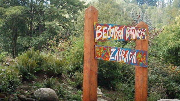 Botanická zahrada v Bečově