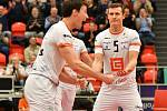 Cenný skalp urvali v prvním kole CEV Challenge Cupu hráči Karlovarska, když výběr Minsku pokořili 3:1 na sety.