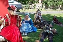 Na Andělské hoře se konaly slavnosti princezny Alvíny.