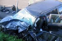 Tragická dopravní nehoda, ke které došlo ve středu 31. srpna ráno u Žalmanova na silnici č. I/6