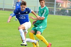 Divize A: 1.FC K. Vary - Čížová  2:1 (0:1).