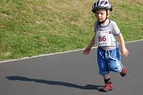 Karlovarský triatlon si užívali i malí závodníci.