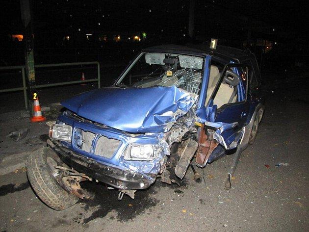 Nehoda v Sokolově