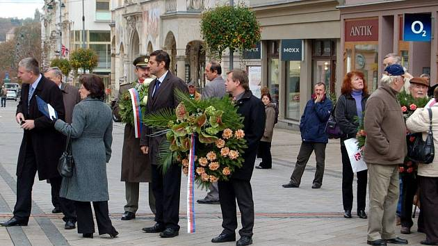 Oslava státního svátku 28. října v Karlových Varech