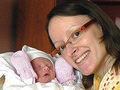 Šárka Burkertová z Karlových Varů se teď těší hlavně na to, až její prvorozený syn Lukášek, který se narodil 15. 9. 2009  v plzeňské FN, začne dobře přibývat na váze. Doma je oba s radostí očekává Lukášův tatínek Patrik Mösner.