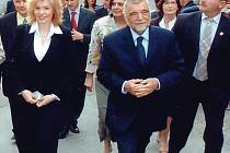 NA NÁVŠTĚVĚ U PREZIDENTA. Karlovarská delegace se před časem vrátila z oficiální návštěvy u chorvatského prezidenta.