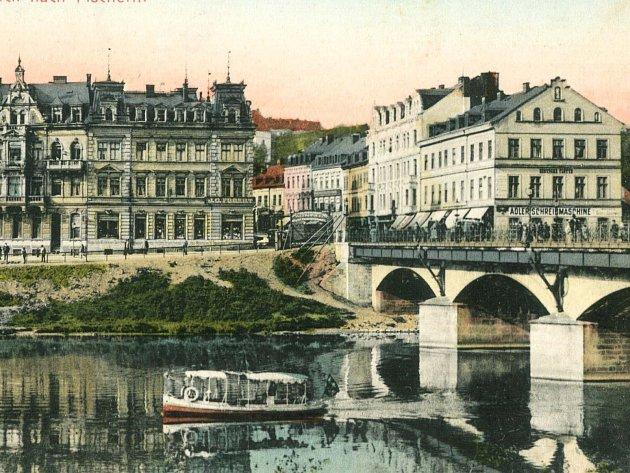 Městské části Karlových Varů na dobových vyobrazeních