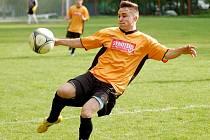 I. B třída: Merklín uspěl v derby nad Ostrovem B, když vyhrál 3:1.