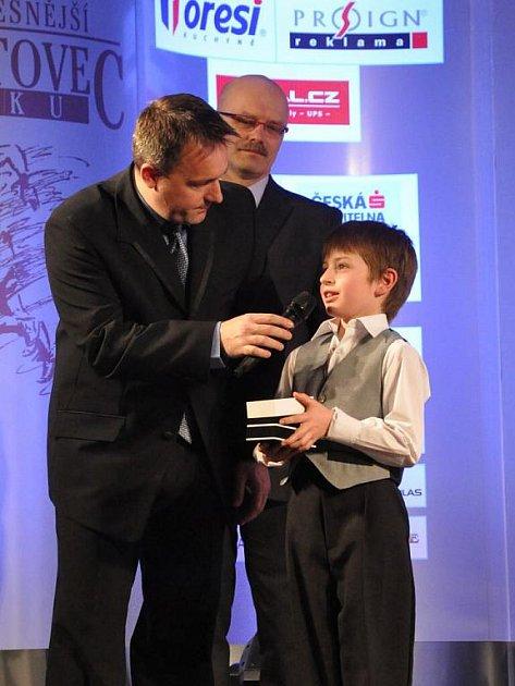 Nejúspěšnější sportovec Karlovarského kraje roku 2010. Slavnostní vyhlášení v hotelu Richmond