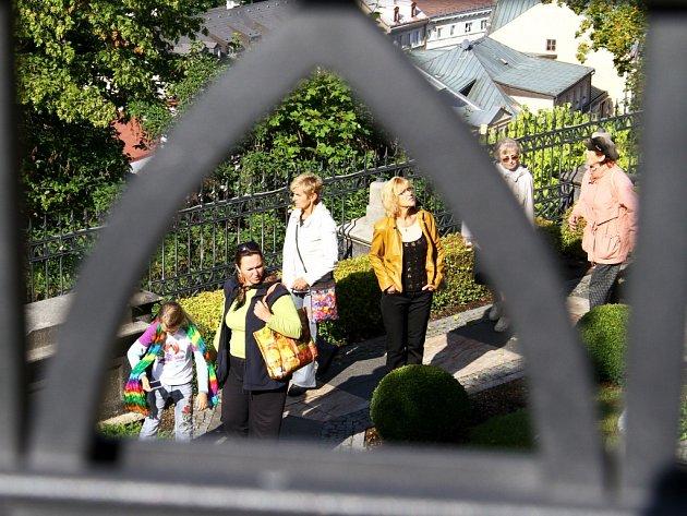 Otevření zahrad u Lützovi vily mělo velký ohla