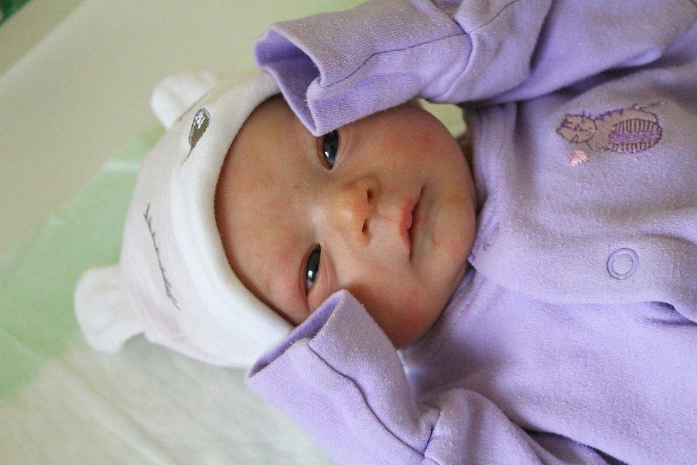 Nina Petrovičová z Nejdku se narodila 30. ledna 2019.