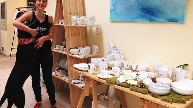 Bejvalý papírnictví je prodejní umělecká galerie