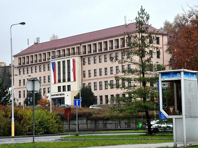 Budova karlovarského magistrátu.