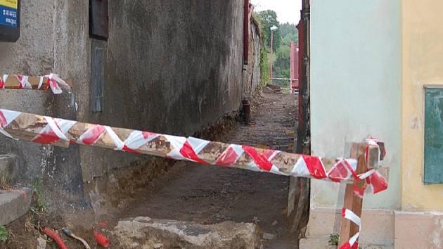 Katova ulička prošla rekonstrukcí za 200 tisíc kč.