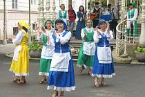 Karlovarský folklorní festival.
