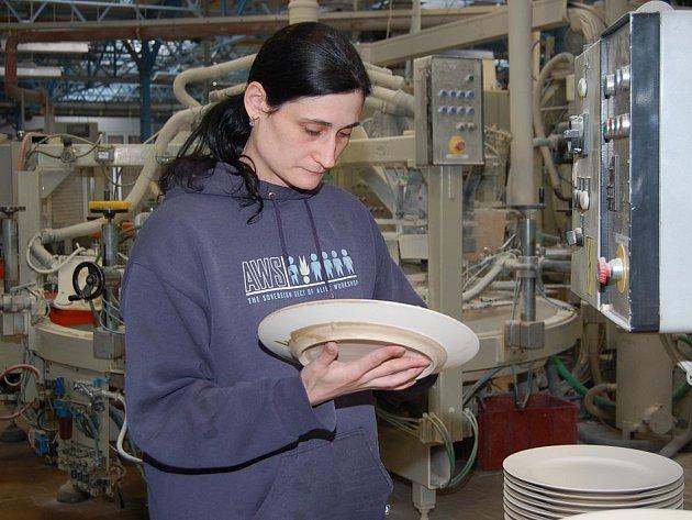 Karlovarský porcelán je v konkursu.