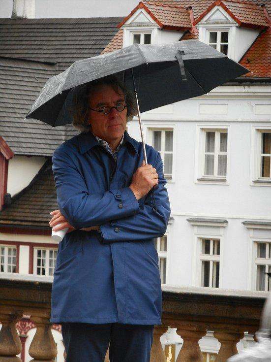 Šéf Kanceláře architektury města Karlovy Vary Petr Knopp
