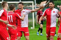 Třetiligová Slavia slavila na svém stadionu ve Dvorech vítězství 2:1 nad Spartou U19.