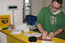 Pošta Partner, která by měla fungovat v Luštěnicích. Tam ji ale odmítají