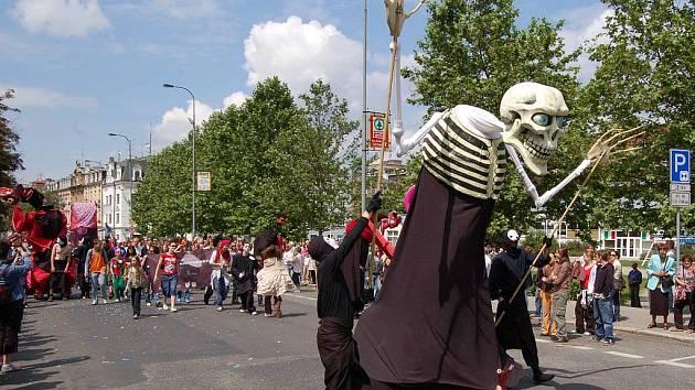 Karneval v Karlových Varech.