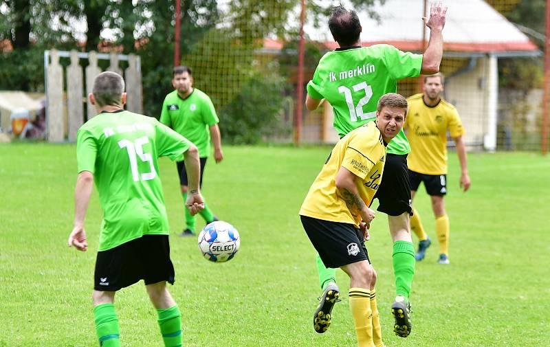 Fotbalisté Kraslic uspěli v souboji s Merklínem, když slavili výhru 6:2.