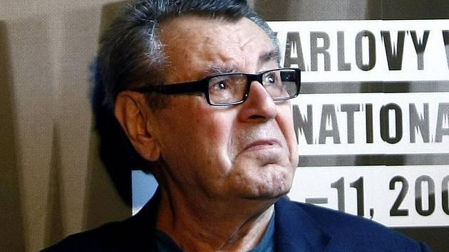 Režisér Miloš Forman na 44. Mezinárodním filmovém festivalu.