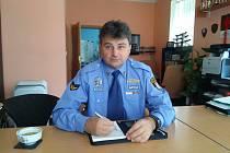 Velitel Městské policie Karlovy Vary Marcel Vlasák.