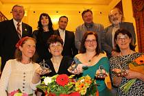 Slavnostní předávání cen Křesadlo za dobrovolnickou činnost v roce 2017 v Karlovarském kraji.