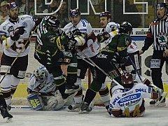 Třetí semifinálový zápas Energie Karlovy Vary se Spartou.