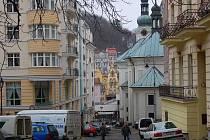 Nové hotely. Ani současná krize neodradila investory stavět v lázních nové objekty. Nyní se má stavět na Hálkově vrchu.