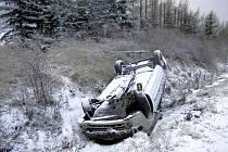 Víkendové nehody v Karlovarském kraji