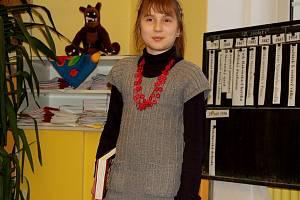 NORA PROKEŠOVÁ uspěla v celostátní Logické olympiádě. V budoucnu by chtěla být spisovatelkou.