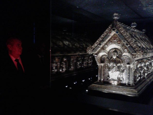 Unikátní relikviář svatého Maura se dočká nové, atraktivní prezentace.
