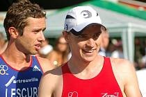 Čtvrtý díl Evropského poháru v olympijském triatlonu přilákal na trasu City Triathlonu 2010 v Karlových Varech několik tisícovek fanoušků