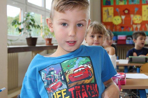 Žáci 1.B ze Základní školy Krušnohorská vKarlových Varech