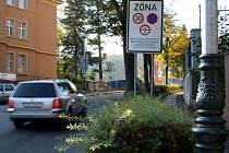 Vjezd do lázeňské zony