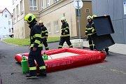 Cvičení záchranných složek se zaměřením na zabránění šíření nebezpečné nákazy