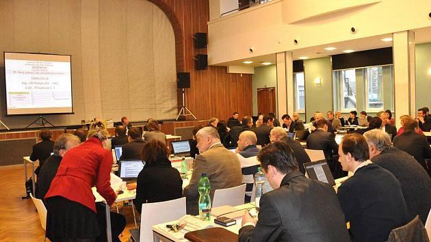 V Lidovém domě v Karlových Varech začalo v úterý 15. února jednání zastupitelů. Na programu byl mimo jiné i rozpočet na rok 2011