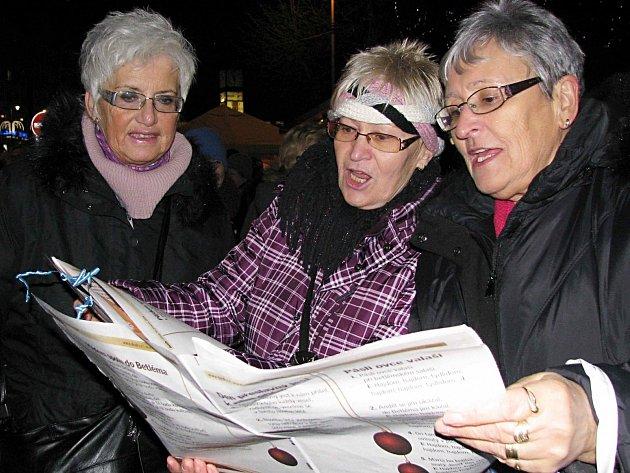 Česko zpívá koledy v Karlových Varech.
