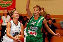 Basketbalistky Gambrinusu Brno v lázních nezaváhaly a odvezly si povinné vítězství.