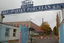 O osudu Karlovarského porcelánu se rozhodne 10. prosince.