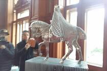 Model sochy Karla IV.
