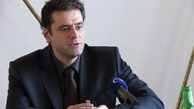 Werner Hauptmann, primátor města Karlovy Vary.