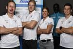BAUER  SKI TEAM .  S novým názvem naskočí do nového ročníku Visma Ski Classics  tým Lukáše Bauera (první zleva).