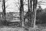 Dobové fotografie Bečovské botanické zahrady.